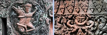 Prasat Bakan reliefs