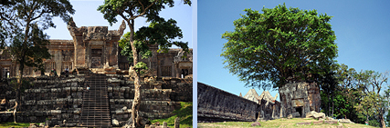 Preah Vihear 4th and 3rd Gopuram gate