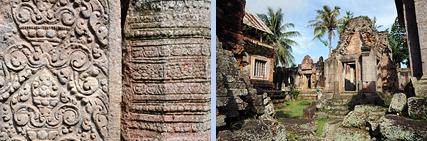 Phnom Chiso Khmer temple, Cambodia