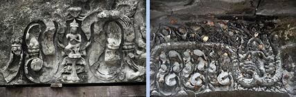 Beng Melea reliefs