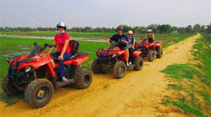 quad bike tours near Angkor