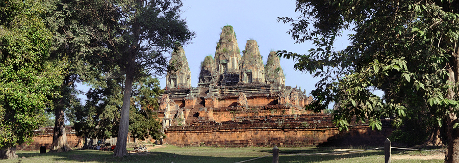 Angkor temple pyramids were royal state temples