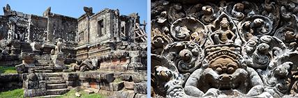 Preah Vihear 2nd Gopuram and relief