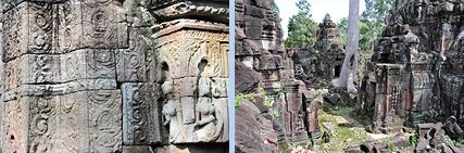 Banteay Prei north of Preah Khan in Angkor