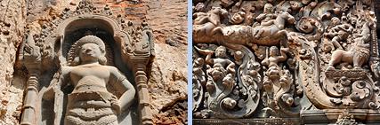 Khmer style of Preah Ko in Roluos
