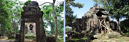 Prasat Chrung corner temples of Angkor Thom