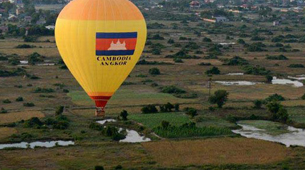 balloon tour in Siem Reap near Angkor