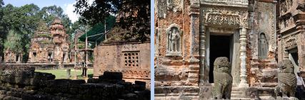 Preah Ko ancestor temple in Roluos