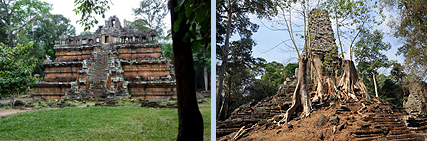 Phimeanakas and Preah Palilay