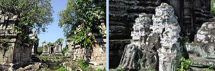 Phnom Bok forgotten Khmer temple near Angkor