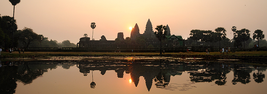 Angkor Wat sunrise photo
