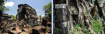 Chau Srei Vibol remote Khmer temple near Angkor