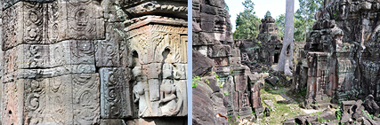 Prasat Prei and Banteay Prei