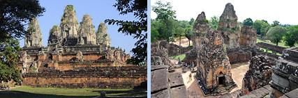 Pre Rup pyramid and enclosure