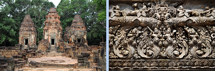 Preah Ko Prasats and relief