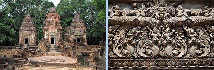Preah Ko Prasats and relief