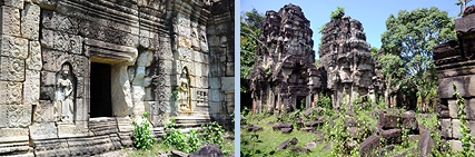 Banteay Thom jungle temple