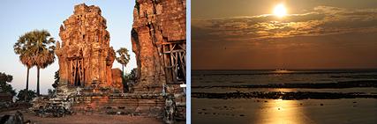 Phnom Krom sunset point