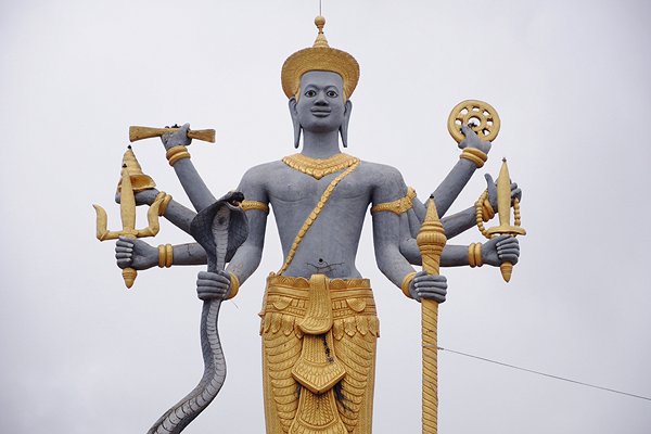 "<span class=""text2"">Shiva <span style=""font-size: x-small;"">(""8 armed lady"")</span><br /></span>"