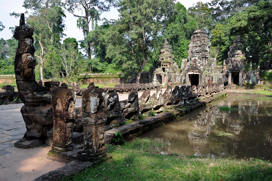 Preah Khan West-Tor